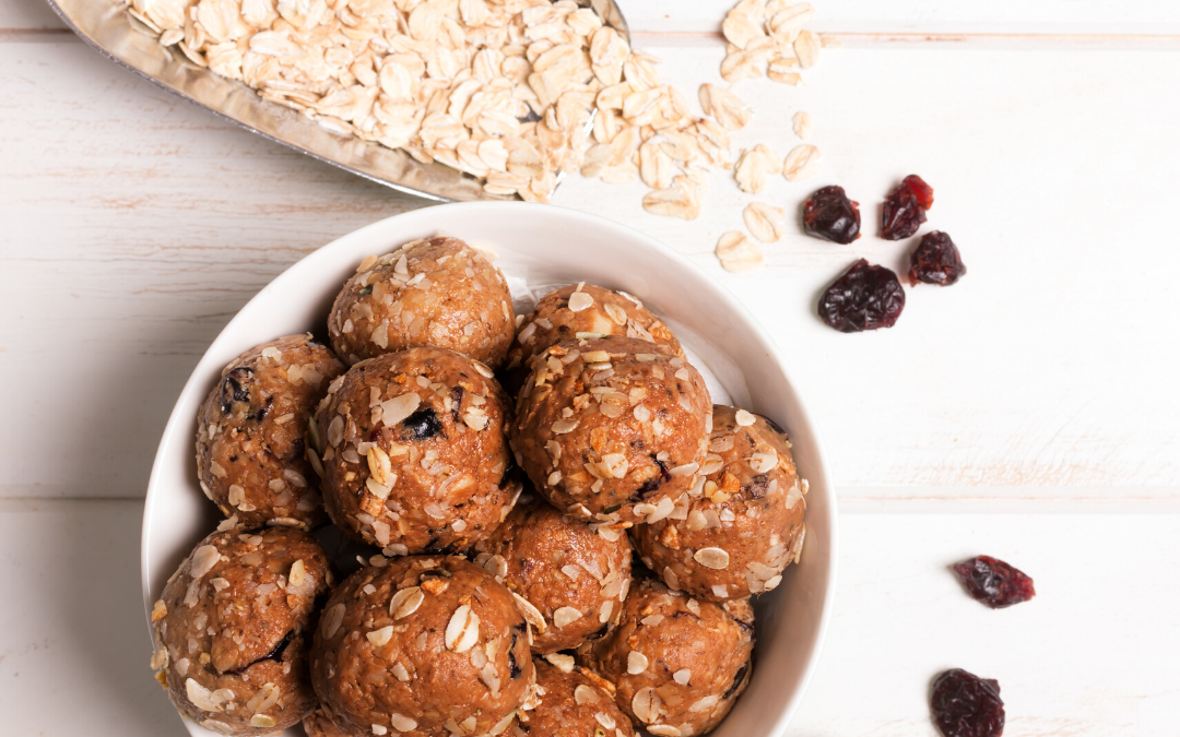 "Nourishing No-Bake Energy Bites – Make Great ""Galentine's Day"" Gifts!"